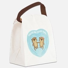 Cute Valentines day Canvas Lunch Bag