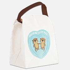 Unique Couples valentine Canvas Lunch Bag