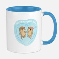 You are my otter half love pun humor Mugs