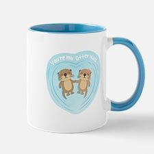 You are my otter half love pun humor Mugs