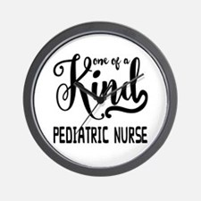 One of a Kind Pediatric Nurse Wall Clock