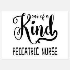 One of a Kind Pediatric Nurse Invitations