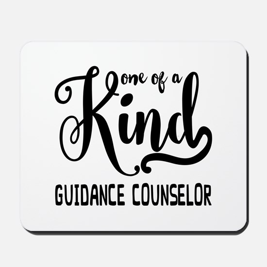 One of a Kind Guidance Counselor Mousepad