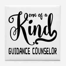 One of a Kind Guidance Counselor Tile Coaster