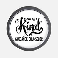 One of a Kind Guidance Counselor Wall Clock