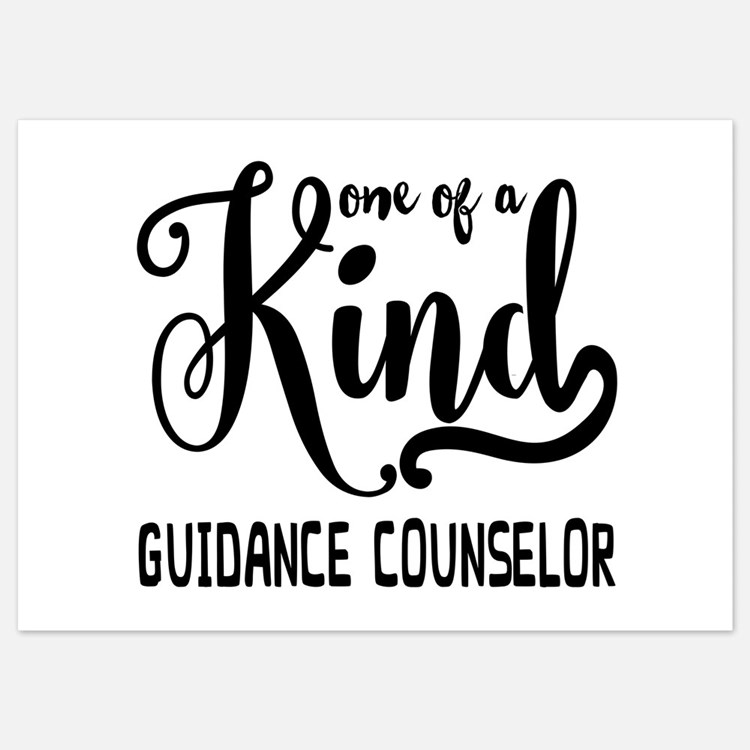 One of a Kind Guidance Counselor Invitations
