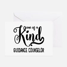 One of a Kind Guidance Counselor Greeting Card