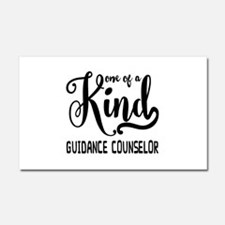 One of a Kind Guidance Counselo Car Magnet 20 x 12