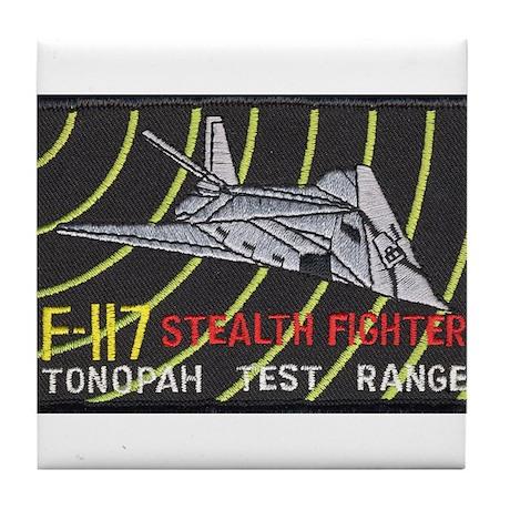 F-117 Stealth Tonopah Tile Coaster