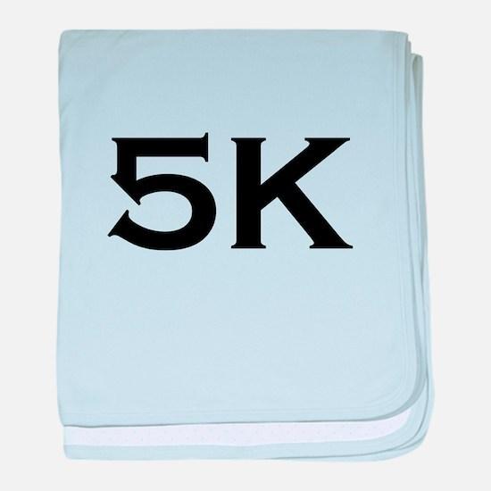 5K Race baby blanket