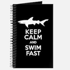 Sharks - Keep Calm, Swim Fast Journal