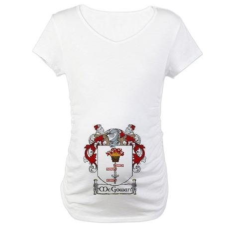 McGowan Coat of Arms Maternity T-Shirt
