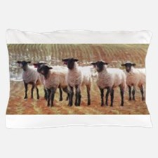 Sheep Painting Pillow Case