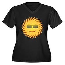 Mr. Sun In Sunglasses Plus Size T-Shirt