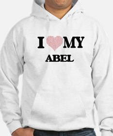 I Love my Abel (Heart Made from Hoodie