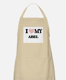 I Love my Abel (Heart Made from Love my word Apron