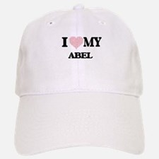 I Love my Abel (Heart Made from Love my words) Baseball Baseball Cap