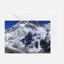 Cute Mount everest Greeting Card