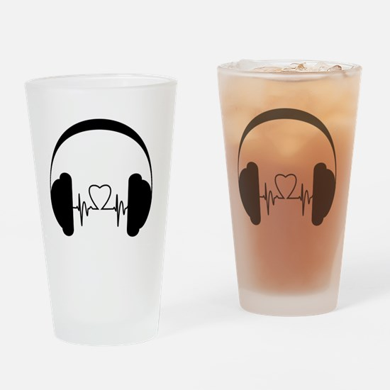 Funny Podcast Drinking Glass
