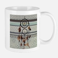 native tribal pattern dream catcher Mugs