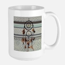 native tribal pattern dream catcher Mugs