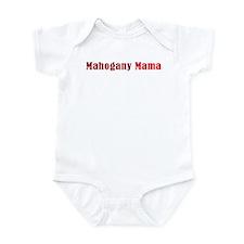 mahogany mama Infant Bodysuit