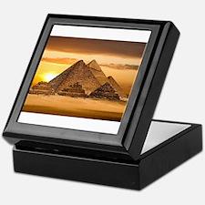Egyptian pyramids Keepsake Box
