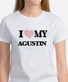I Love my Agustin (Heart Made from Love my T-Shirt