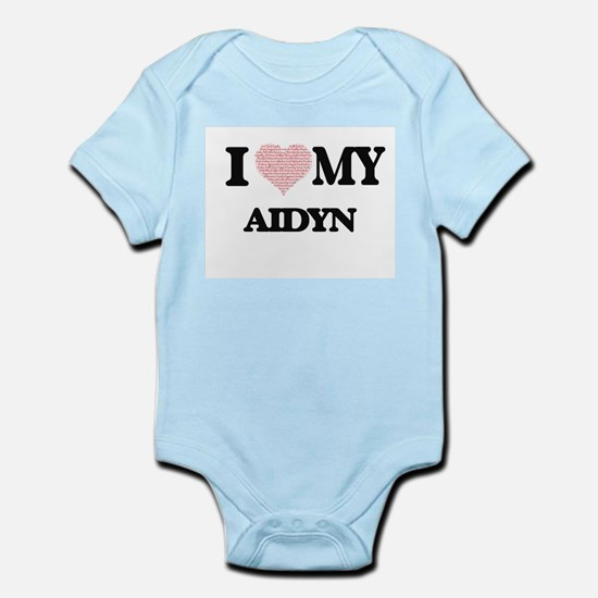I Love my Aidyn (Heart Made from Love my Body Suit