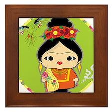Frida Kahlo Framed Tile
