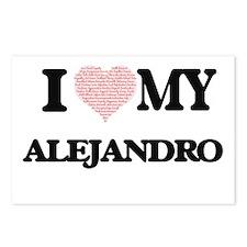 I Love my Alejandro (Hear Postcards (Package of 8)