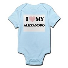 I Love my Alexandro (Heart Made from Lov Body Suit