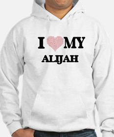 I Love my Alijah (Heart Made fro Jumper Hoody