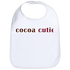 cocoa cutie Bib
