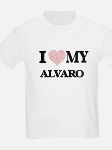 I Love my Alvaro (Heart Made from Love my T-Shirt