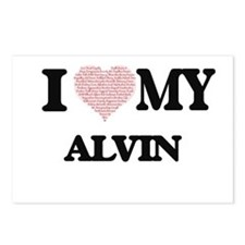 I Love my Alvin (Heart Ma Postcards (Package of 8)