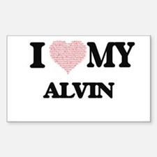 I Love my Alvin (Heart Made from Love my w Decal