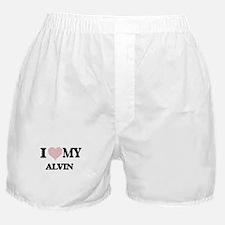 I Love my Alvin (Heart Made from Love Boxer Shorts