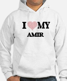 I Love my Amir (Heart Made from Hoodie