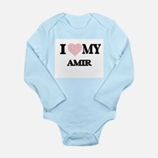 I Love my Amir (Heart Made from Love my Body Suit