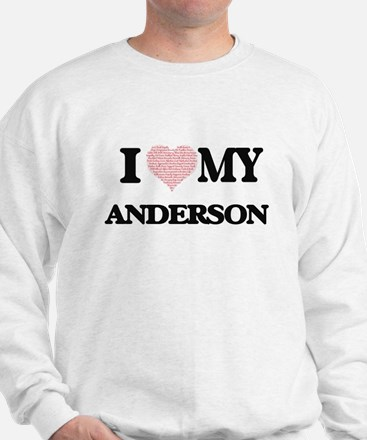 I Love my Anderson (Heart Made from Lov Sweater