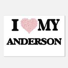 I Love my Anderson (Heart Postcards (Package of 8)