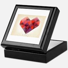Hearts Braille Keepsake Box