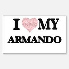 I Love my Armando (Heart Made from Love my Decal
