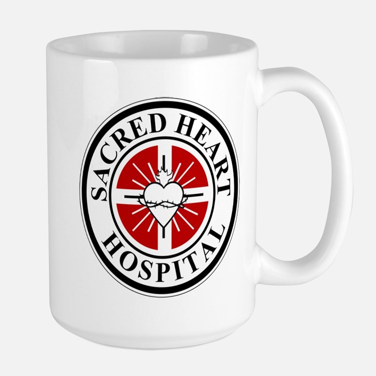 Sacred Heart Hospital Logo Mugs