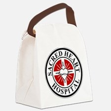 Sacred Heart Hospital Logo Canvas Lunch Bag
