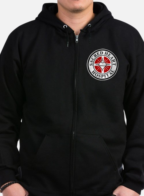 Sacred Heart Hospital Logo Zip Hoody