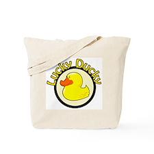 Lucky Ducky Tote Bag