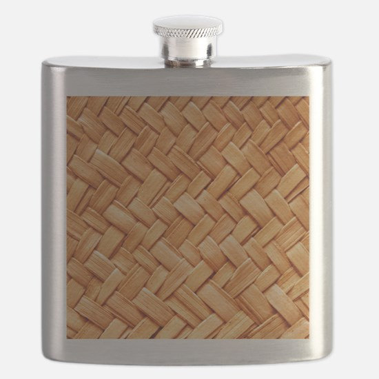 WOVEN STRAW Flask