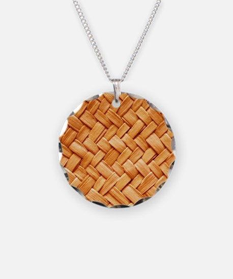 WOVEN STRAW Necklace
